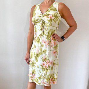 Vintage •  Aloha Midi Dress